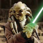 Kit Fisto from Attack of the Clones